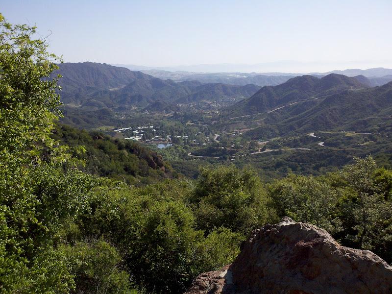 Cruisin' the Conejo • View from Rock Store Climb