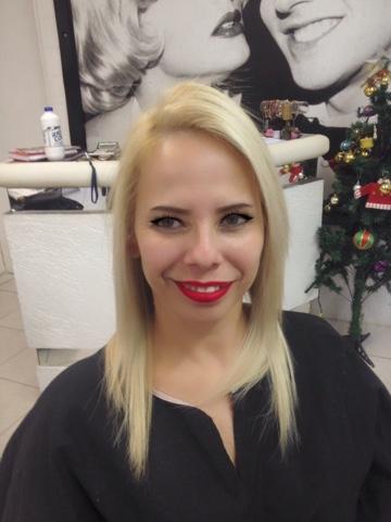 Antes e depois Blond