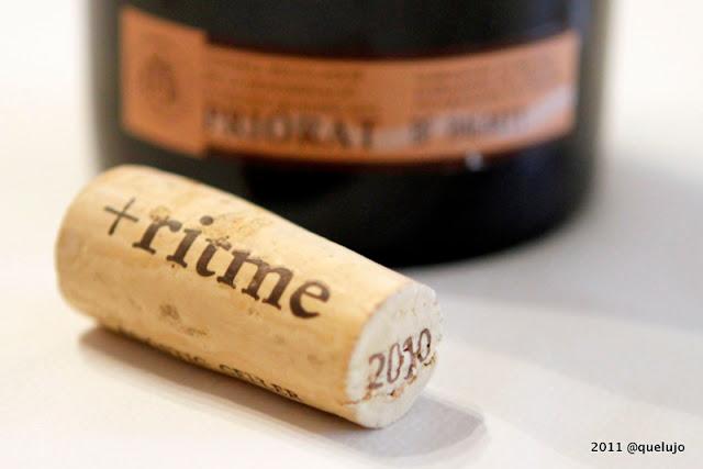 Vino blanco Ritme 2010, Bodega Acústic Celler (D.O.Q Priorat) de Albert Jane