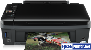 How to Reset Epson SX420W inkjet printer – Reset flashing lights problem
