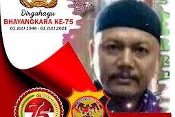 Kabiro Lintas One Kabupaten Lumajang Mengucapkan Dirgahayu Bhayangkara Ke 75 Tahun