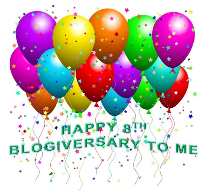HAPPY 8TH BLOGIVERSARY