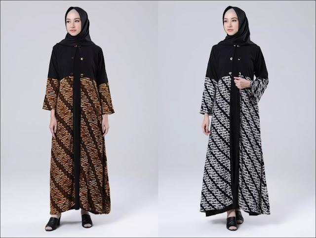 Model Baju Gamis Batik Cantik Terbaru untuk Dikenakan