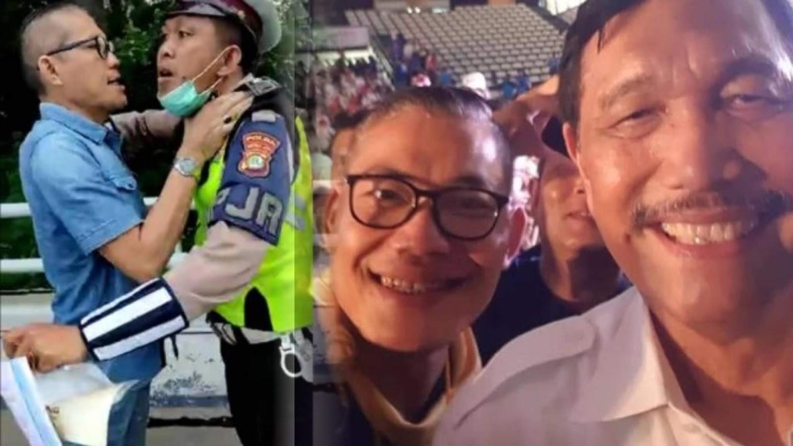 Unggahan Lawas 'Revolusi Mental' Tohap Pencekek Polisi Jadi Sorotan