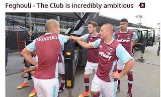 Feghouli explique les raisons de son choix  pour West Ham