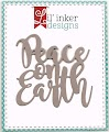 Peace on Earth Word Die