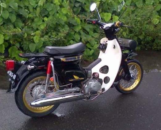 Honda C70 Mesin Astrea Legenda