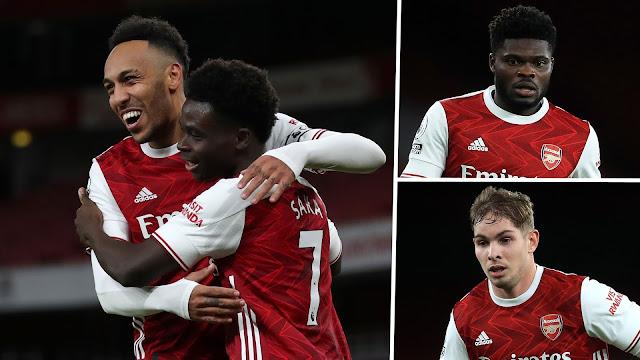Arsenal Menang Lawan Newcastle, Aubameyang Kembali Skor Gol.
