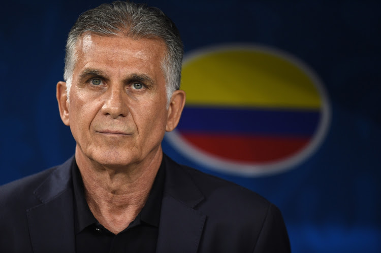 Carlos Queiroz. Picture: PEDRO VILELA/GETTY IMAGES