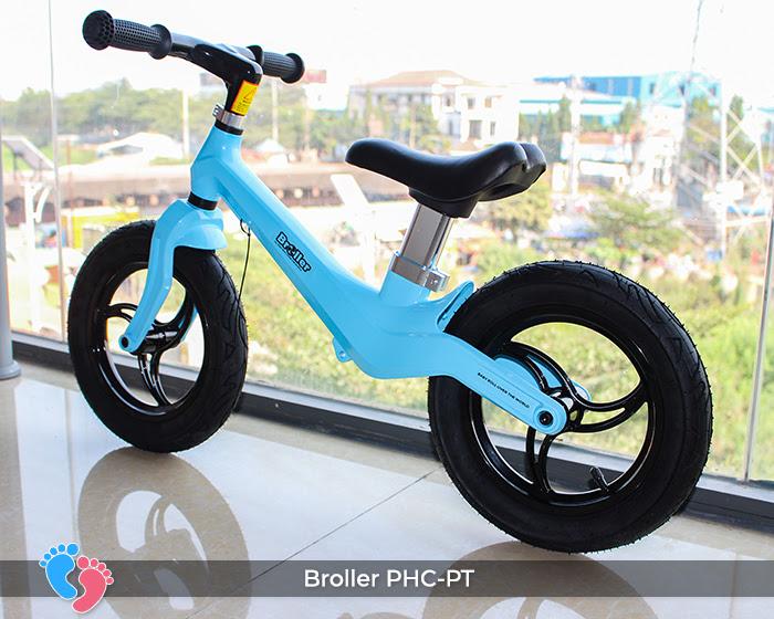 Xe cân bằng Broller PHC-PT bánh hơi 3
