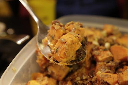 2nd Dish: Jen's Sweet Potato Salad