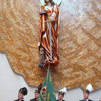 Obraz św. Barbary - poświęcenie