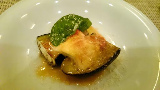 [写真]ナスとモッツァレラチーズのオーブン焼き