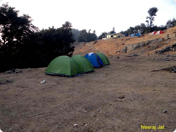 Nagtibba Trek in Winters
