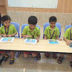 I-Pad Activity in Jr.kg and Sr.kg (2014-15) at Witty World