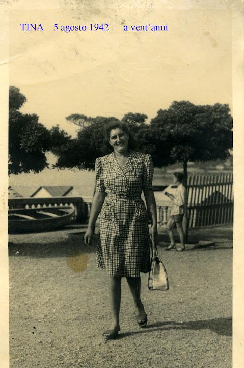 1942 - 5 agosto - tina - sutti albertina 1922