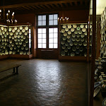 Château d'Ecouen : céramiques d'Iznik