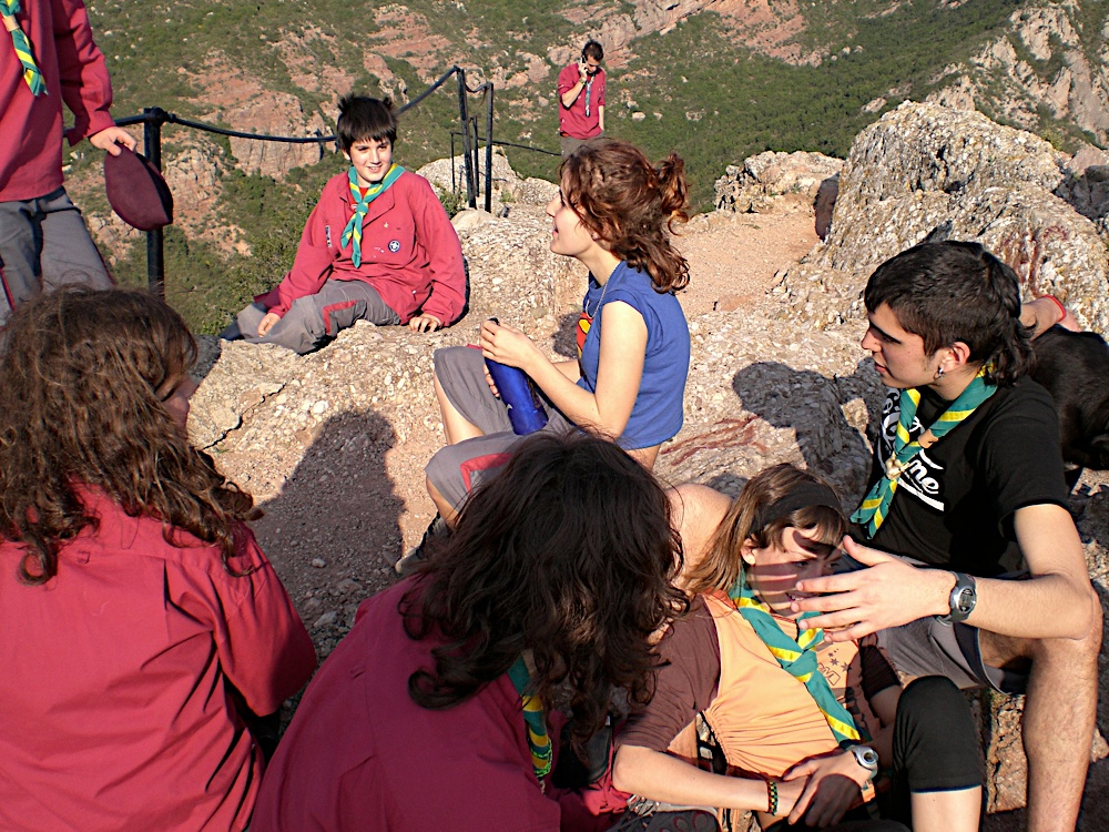 Sortida Sant Salvador de les espasses 2006 - CIMG8287.JPG