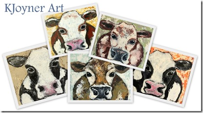 KJoyner Cow Paintings