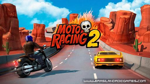 Download Moto Racing 2: Burning Asphalt v1.111 APK MOD DINHEIRO INFINITO -Jogos Android