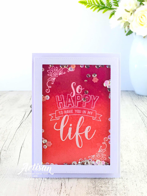 Stampin' Up!, Amazing Life, Stampin' Blends, Stamping Sunday Blog Hop, Jaxx Crafty Creations