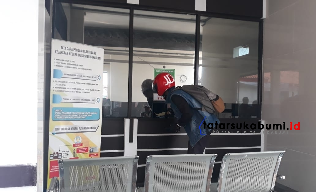 Kejari Kabupaten Sukabumi Permudah Layanan Pembayaran Tilang dan Pengambilan Barang Bukti