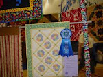 2007 Quilt Show - D) Pieced Small Hand Quilted