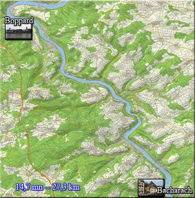 Ampliar el Plano del Crucero por el Rhein