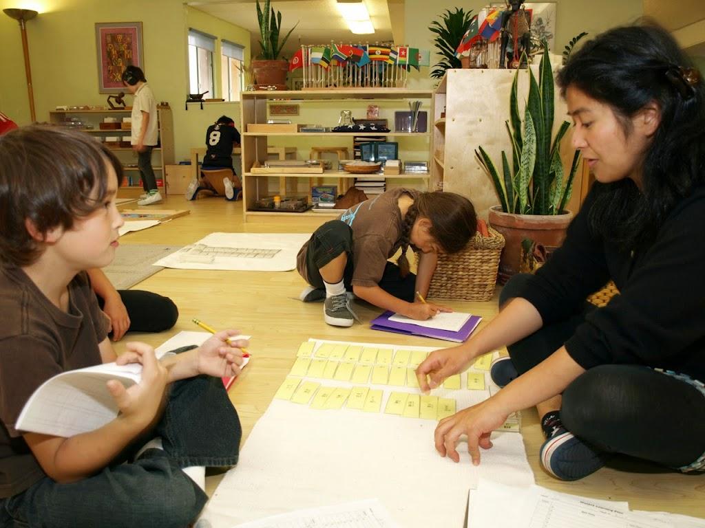 Yoko gives Aki Japanese lesson