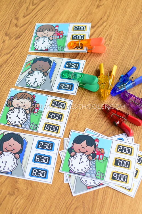 TELLING TIME LEARNING ACTIVITY