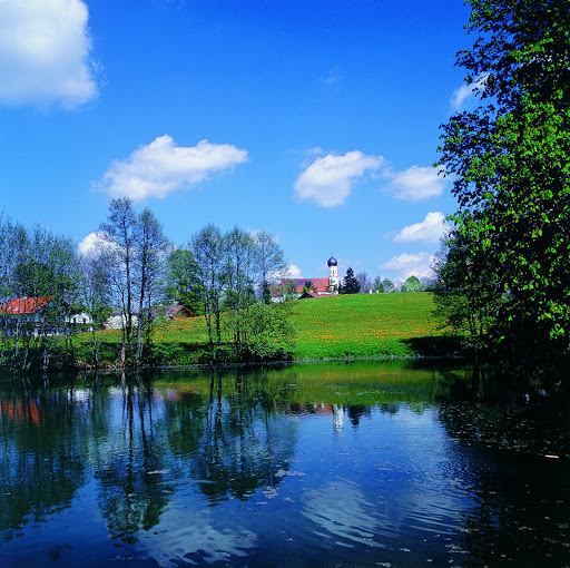 Spa city Bad Heilbrunn. From Driving the Alpine Road in Germany
