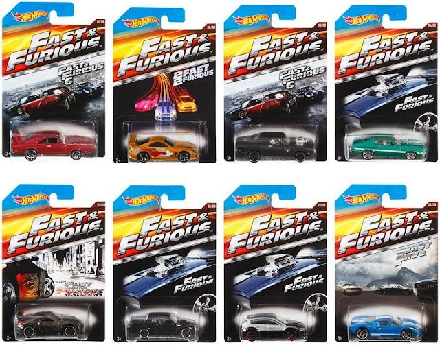 Mô hình Xe Fast and Furious Hot Wheels CKJ49 dành cho trẻ em trên 3 tuổi
