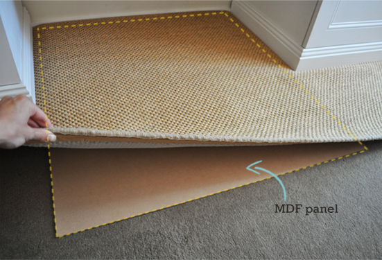 How to keep area rug in place