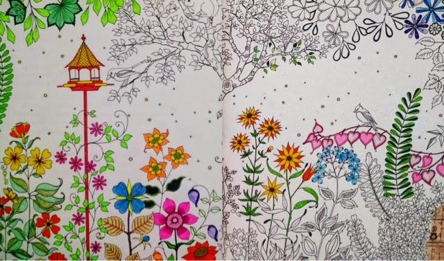 fotos do livro jardim secreto:As imagens pintadas são de autores desconhecidos, mas se for sua
