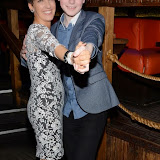 OIC - ENTSIMAGES.COM -  Anna Kennedy OBE (Autism campaigner and contestant on the People's Strictly)  and Dermot McNamara at the Channel 5  launch of Gambling Awareness Day London 6th March 2015 Photo Mobis Photos/OIC 0203 174 1069