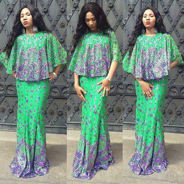 Styles And Pretty African Prints Dresses 2018