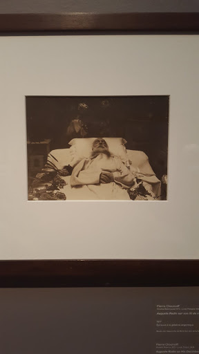 Rodin on his deathbed. Pierre Choumoff, 1917. Exploring the Rodin Exhibit at the Montreal Museum of Fine Arts