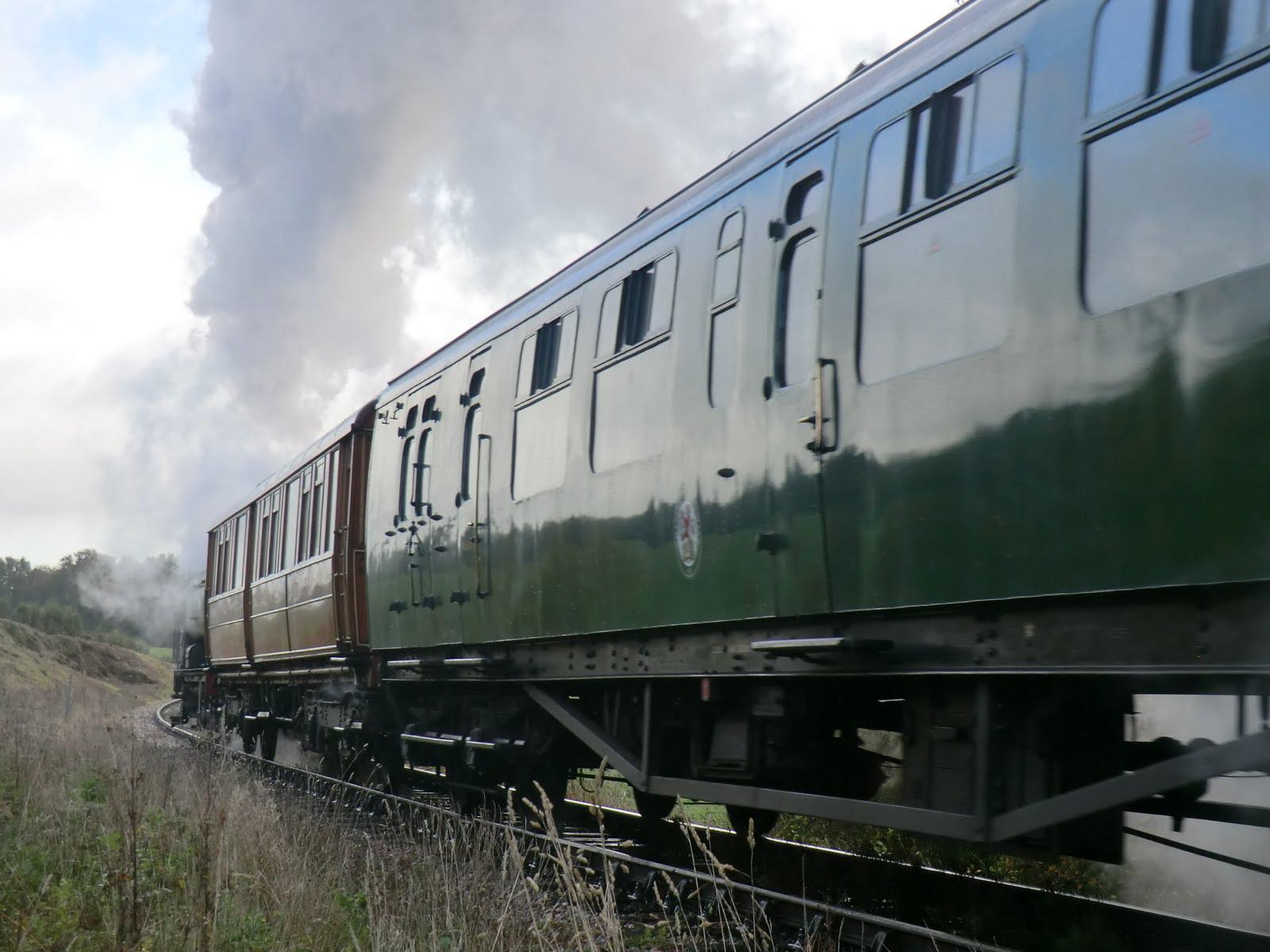 CIMG4795 A steam train passes