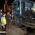Kontainer Mogok Penyebab Kemacetan Jalan Sukabumi - Bogor Hingga Tengah Malam Masih Belum Bergerak