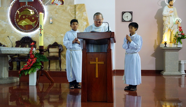 Gx.Phú Hoà Thánh lễ Truyền Tin