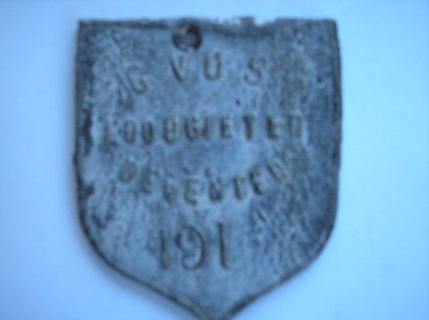 Naam: G. VosPlaats: DeventerJaartal: 191.