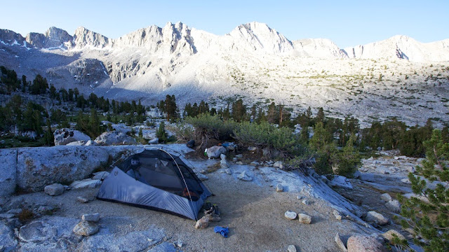 dusy basin camp