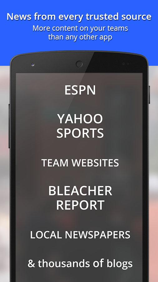 Chat Sports - News & Scores- screenshot
