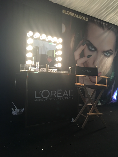 L'Oréal gold party