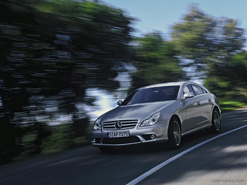 2007 mercedes benz cls class cls63 amg specifications pictures prices. Black Bedroom Furniture Sets. Home Design Ideas