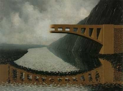 Magritte, Il ponte di Eraclito