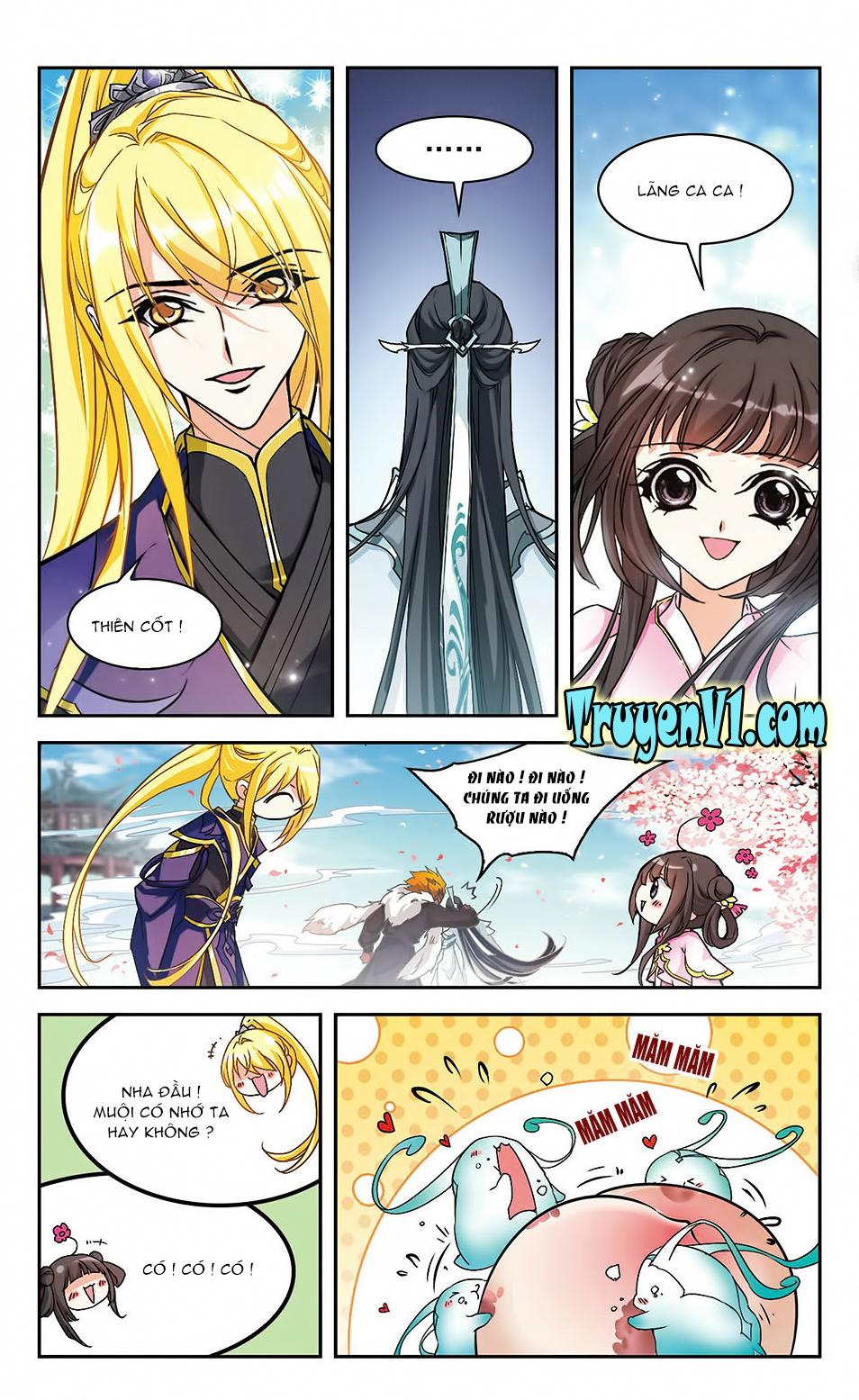 Hoa Thiên Cốt Chap 107 - Trang 11