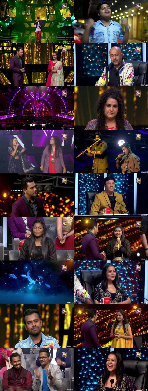 Screenshots Of Hindi Show Indian Idol 3rd November 2019 Episode 08 300MB 480P HD