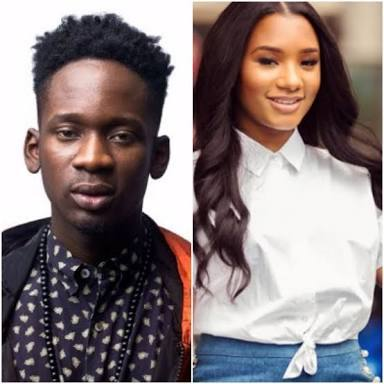 Checkout What 'Lovesick' Temi Otedola And Mr Eazi Were Pictured Doing