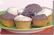Cupcake al provolone con salsa al radicchio